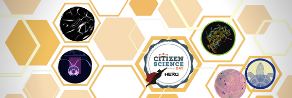 We're giving out citizen science badges for #CitSciDay!