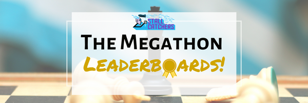 The #Megathon leaderboards -- who made it to the top ?! 🏆