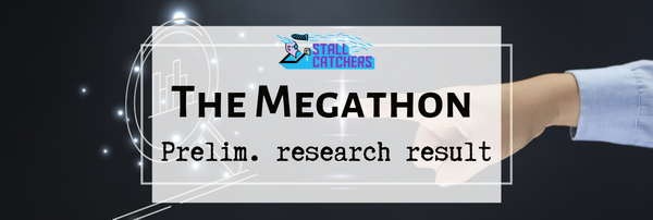 Early peek at the #Megathon research result 📈 📊
